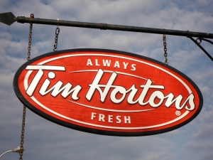 A new Tim Horton's at Humber College