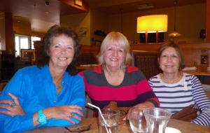 Marcia, Liz and I