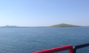John Lennon's Island. I wasn't kidding when I said there was nothing on it.