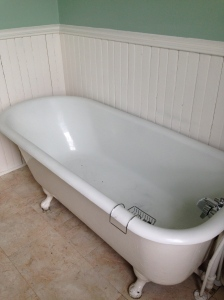 If I wanted a bath it would be in a nice deep tub like this one.