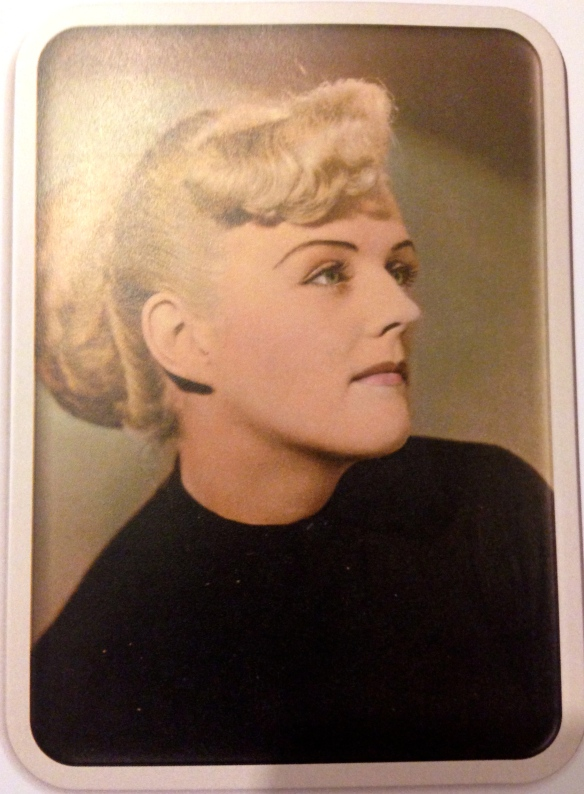 My aunt in her late teens or  early 20s. She would have been 89 this year. Miss you!